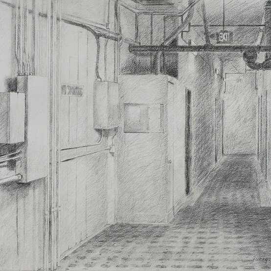 Charcoal, 20 x 29 in., 2009