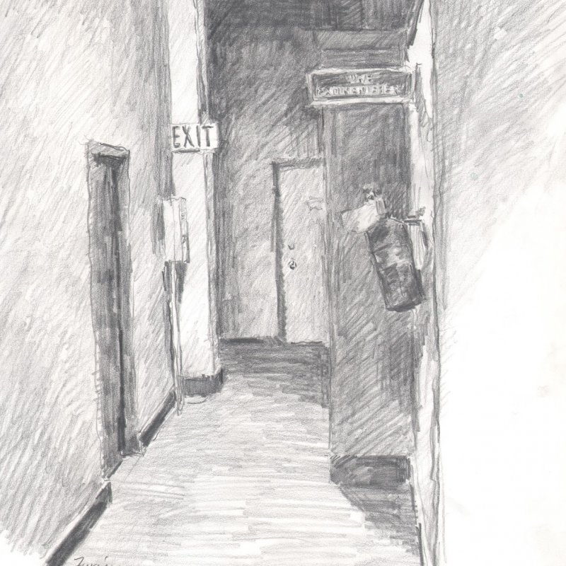 Pencil, 14 x11 in., 2002