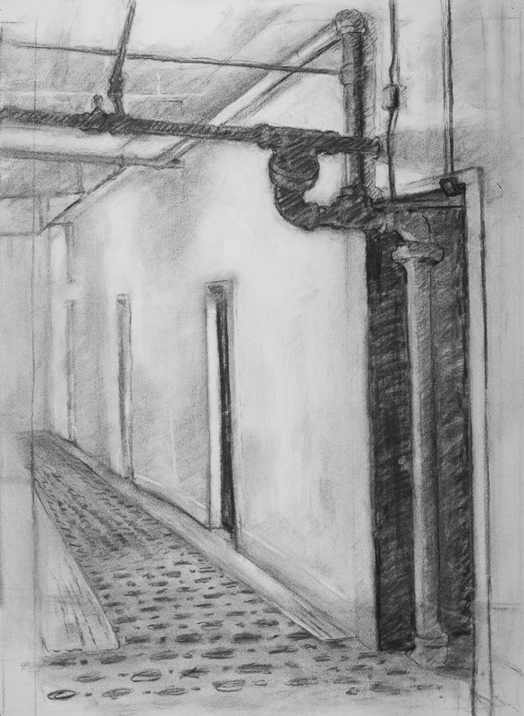 Charcoal, 29 x 20 in., 2009