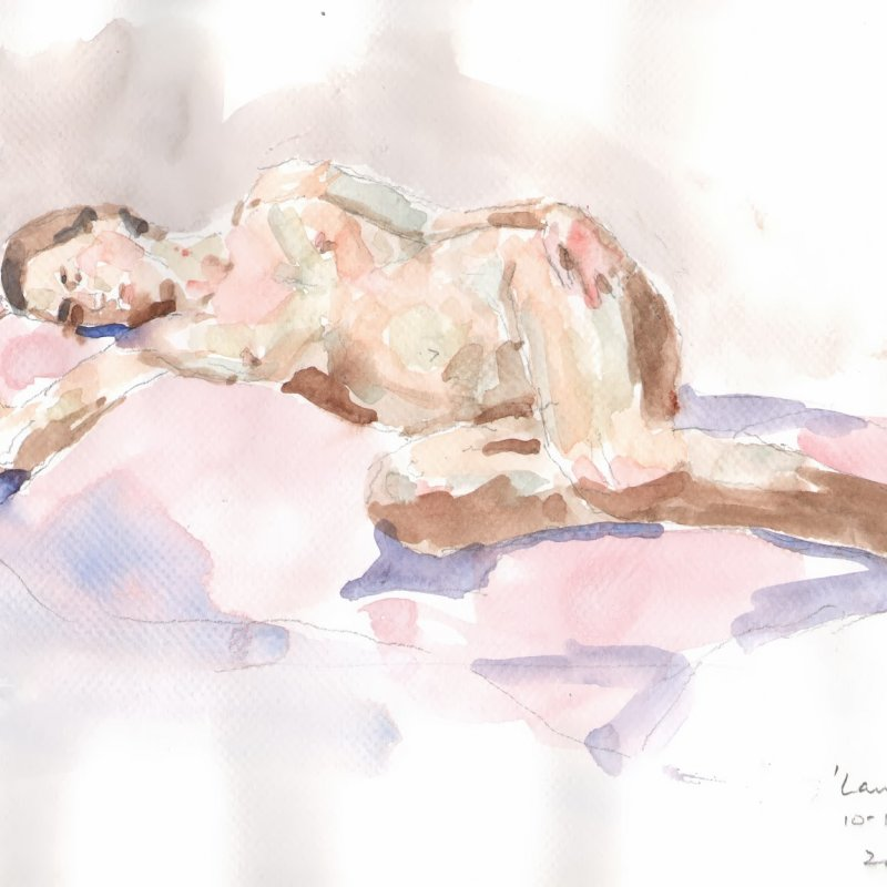 'Lauren', 9x13 in., 20 min. pose