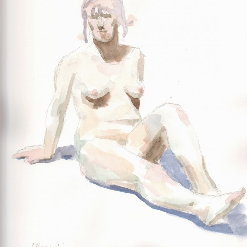 'Bryna', 16x12 in., 20 min. pose