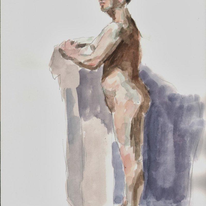 'J.B.', 16x12 in., 20 min. pose