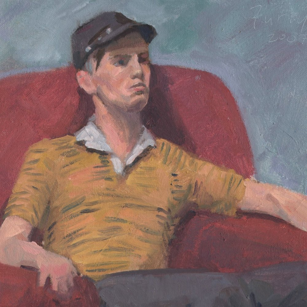 Rob, oil on canvas, 14 x 11 in.