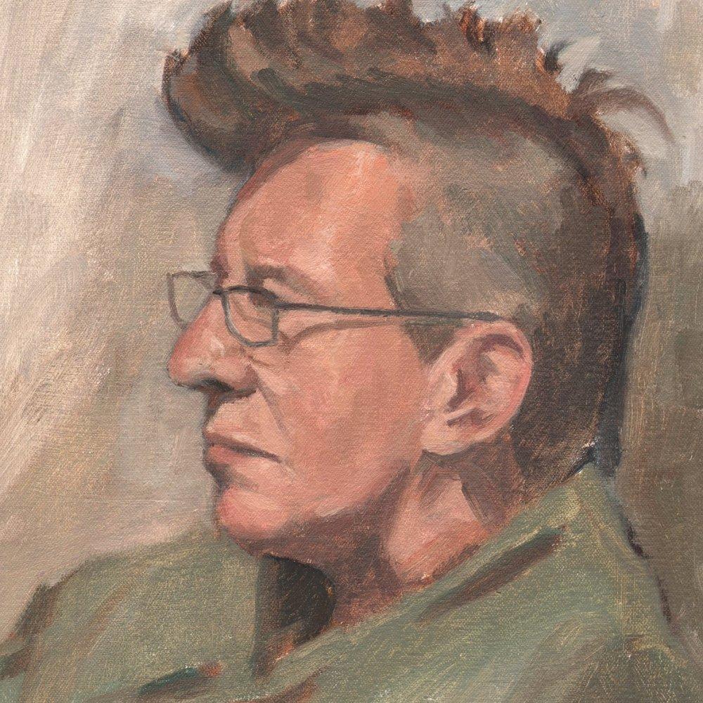 Lynne, oil on canvas, 14 x 11 in.